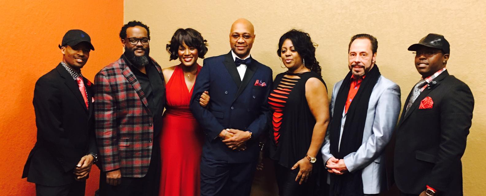 Latrese Bush with the Palmer Williams Band